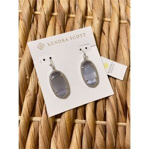 Kendra Scott   Silver Earrings in Slate.